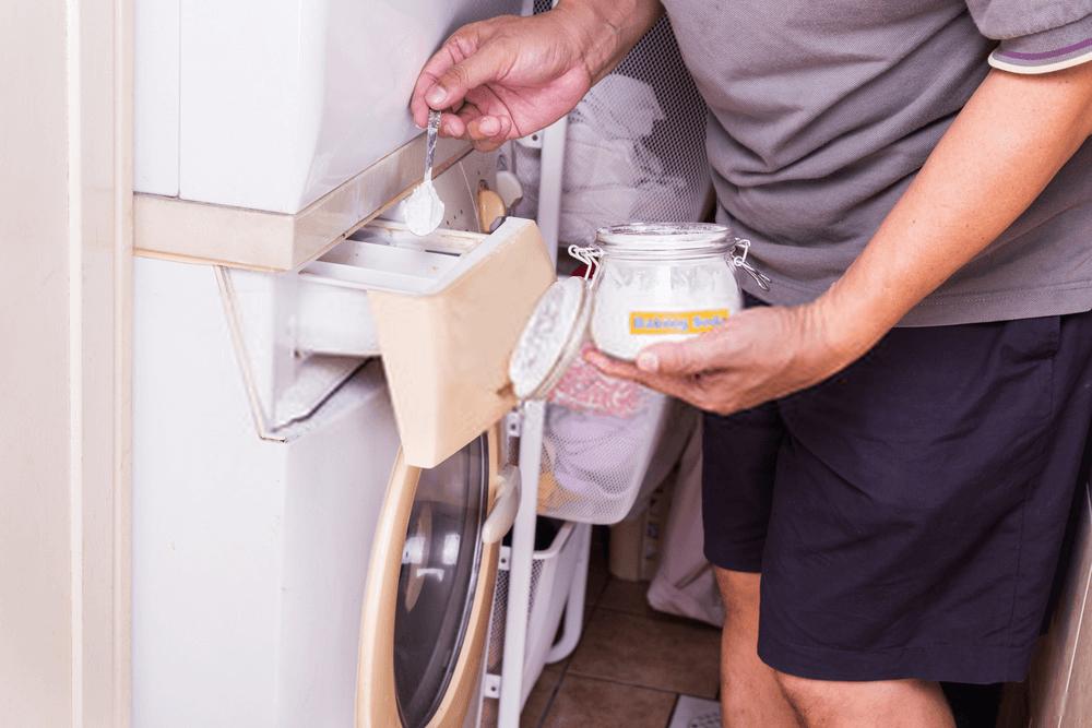 dodawanie sody do prania