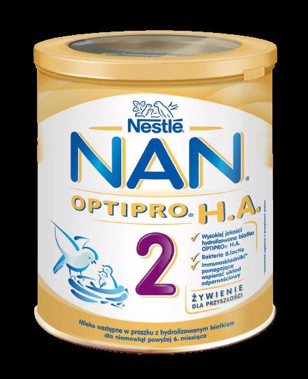 NESTLE NAN OPTIPRO HA 2 Mleko Modyfikowane