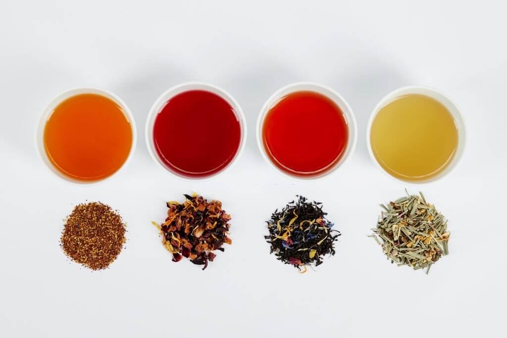 4 rodzaje herbaty